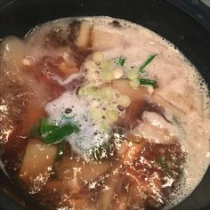 오징어 무국 무와 오징어와 마늘 고춧가루만있으면 정말 맛있게 끓일수있는 국 !