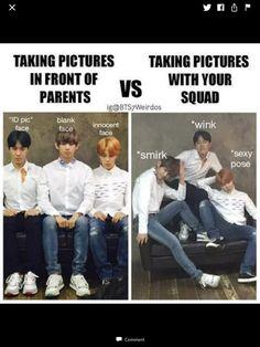 Bts Truth or Dare - Chapter 3 - Wattpad Bts Jungkook, Namjoon, Taehyung, Seokjin, Bts Pictures, Funny Photos, Got7, Bts Memes Hilarious, Wattpad