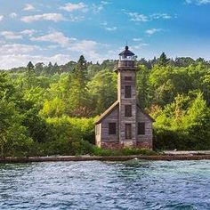 We think the East Channel Lighthouse will perfectly complement the changing fall colors in Munising, don't you agree? Thanks to @patilrajashekar for sharing! #PureMichigan #Munising #UpperPeninsula