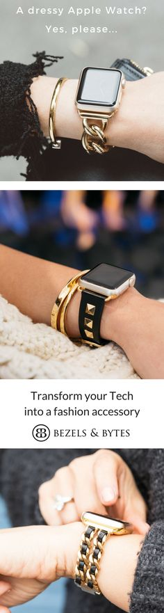 apple watch bands for the fashion set