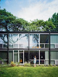 Lafayette Park, Detroit, Mies Van Der Rohe