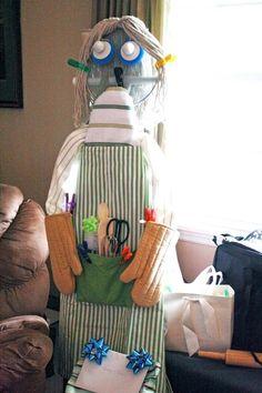 Ironing Board Lady