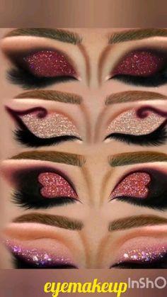 Dope Makeup, Makeup Eye Looks, Eye Makeup Art, Crazy Makeup, Eyeshadow Makeup, Dramatic Eye Makeup, Eyeshadow Looks, Intense Eye Makeup, Crazy Eyeshadow