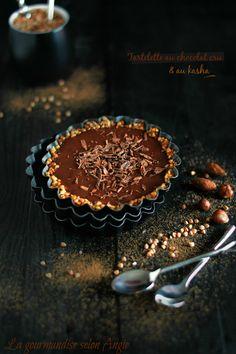 tartelette crue chocolat kasha Tart Recipes, Raw Food Recipes, Sweet Recipes, Dessert Recipes, Desserts Crus, Raw Desserts, Delicious Desserts, Sweet Pie, Sweet Tarts