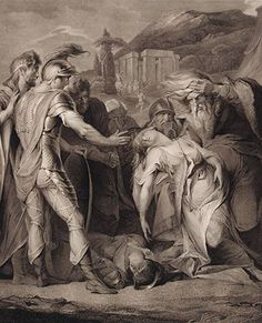 Boydell's Illustrations of Shakespeare, Vol. II: King Lear, Act V, Scene III (after James Barry)