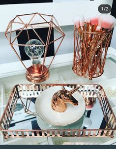Birthday Gifts : Rose Gold Girls Accessories Gifts for g… - Innenarchitektur Room Decor Bedroom Rose Gold, Rose Gold Rooms, Rose Gold Decor, Bedroom Ideas, Birthday Gifts For Teens, Diy Birthday, Cute Room Decor, Gold Girl, Girls Accessories