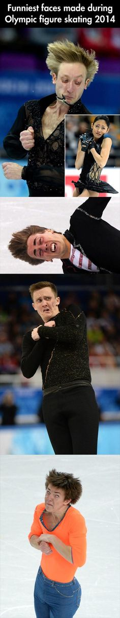 Dump A Day Funny Faces Made During The 2014 Olympic Figure Skating - 27 Pics