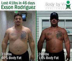 Visalus 90 Day body bi Vi Challenge real results!
