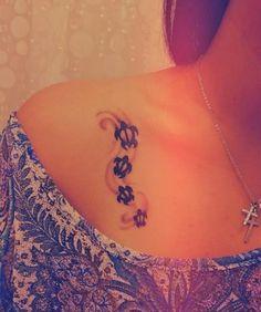 Turtle Tattoos | … little turtle, cute! Enjoy these Funny Turtle Tattoo Designs