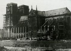 Notre Dame 1847 Durant la restauration 2 - H. Bayard