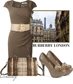 """Burberry London"" by casuality on Polyvore"