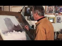 Unusual Watercolor Painting Technique--Use your fingers! In this preview of Colour In Your Life: Watercolor Wet into Wet with Joseph Zbukvic, playing now on http://ArtistsNetwork.tv, artist Joseph Zbukvic uses his fingers in place of a brush to create lively effects in his cityscapes.