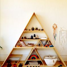 triangle shelving / typefiend / gregory han