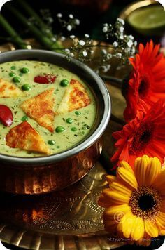 Nawabi Paneer Curry ~ Shallow fried Indian cottage cheese and green peas cooked in rich, creamy coconut and cashew nut gravy Recipe, Delicious :) Veg Recipes, Indian Food Recipes, Asian Recipes, Vegetarian Recipes, Cooking Recipes, Healthy Recipes, Vegetarian Lunch, Indian Snacks, Paneer Dishes