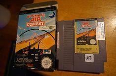 Ultimate Air Combat Nintendo NES Cartridge PAL Boxed   eBay