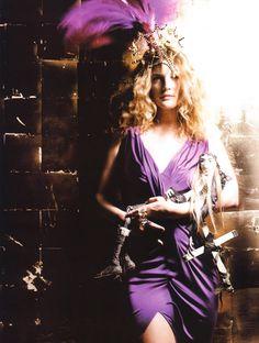 Drew Barrymore By Galliano for French Vogue Barrymore Family, John Barrymore, Little Girl Lost, Freak Flag, Grunge Girl, 90s Grunge, Magazine Articles, John Galliano, Spring Looks