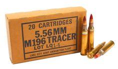 Ammunitionstore.com - 223 5.56x45 Ammo M196 Lake City Tracer 20 Round Box, $12.99 (http://ammunitionstore.com/products/223-5-56x45-ammo-m196-lake-city-tracer-20-round-box.html)