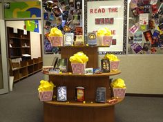 Read the book....See the movie. This display is at the Castleberry High School Library.