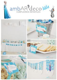 Another Frozen Party!/ Otro cumple de Frozen!