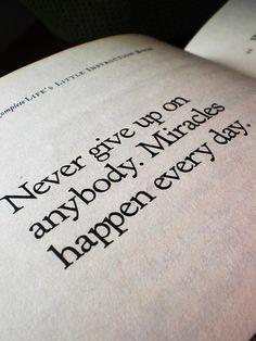 good reminder ...