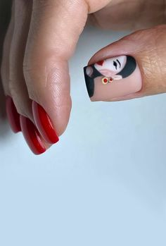 Stylish Nails, Trendy Nails, Cute Nails, Picasso Nails, Art Deco Nails, Nailart, Nail Drawing, Les Nails, Manicure E Pedicure