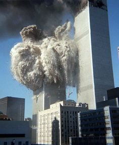 South Tower Collapses, by Jerry Torrens Islamic Terrorism in New York