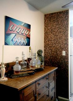 How to: Give Your Wall a Total Textural Makeover with Pennies!
