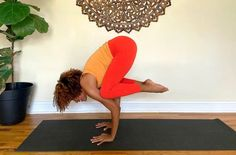 How To (Finally) Nail One Of Yoga's Most Popular Arm Balances: Crow Pose