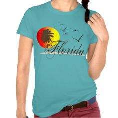 Cool Florida Sunset t-shirts. Palm trees at sunset with seagulls at the beach. Cool t-shirts for the beautiful state of sunny Florida U.S.A. #florida #tallahassee #tampa #clearwater #beach #daytona #spring #break #orlando #naples #miami #key #west #port #tampa #st #augustine #cute #cool #hollywood #florida #anna #maria #treasure #island #saint #petersburg #st #pete #kissimmee #lithia #springs #bayshore #boulevard #boca #raton #cocoa #beach #dade #city #fort #lauderdale #fort #myers…