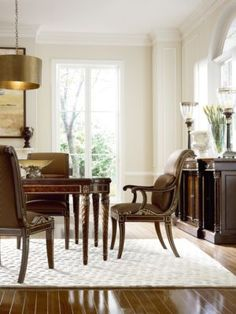 Osterley Manor Dining Table and Chairs by Henredon Dining Room Furniture Dining Room Sets