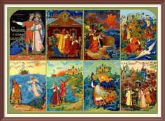 Illustrations of stories by Alexander Pushkin