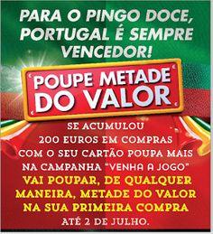 Poupe Metade do Pingo Doce Não será afetado pelos fracos resultados de Portugal no Mundial :D