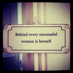 Be the author & creator of your own success story! #beastrongwoman