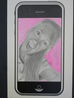 The Calvert Canvas: Adventures in Middle School Art!: #Selfie