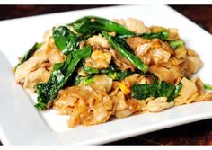 """Pad See Ew. My favorite thai dish. The blog it came from is called """"Rachel Cooks Thai."""" I guess I'll have to try this one then!"""