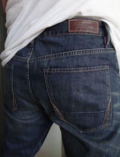 All Saints Spitalfields Men Jeans Low Rise Dark Wash Slim Tapered Leg 29 x 32 #AllSaintsSpitalfields #Taper