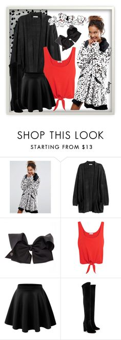 """Disney Contest"" by bamra ❤ liked on Polyvore featuring Disney, Lazy Oaf, SIWA, Splendid, LE3NO and Aquazzura"