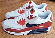 best service 9945d f7ebc Nike Air Max 90 Essential Mens AJ1285-600 Mars Stone Obsidian Shoes Size  11.5