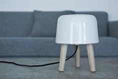 Milk Black Table Lamp