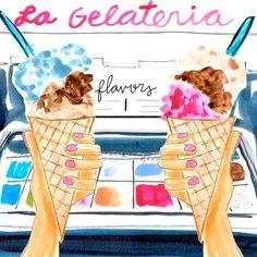 """좋아요 605개, 댓글 9개 - Instagram의 EVELYN HENSON(@evelyn_henson)님: """"TGIF gelato edition #evelynhensonvideo"""""""