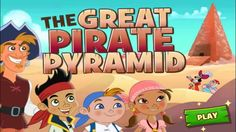JAKE and the never land pirates - The Great Pirate Pyramid  SUBSCRIBE https://www.youtube.com/user/ipadmacpc