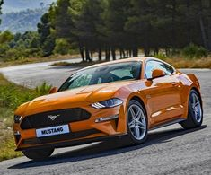 The stylish 2018 Ford Mustang GT
