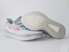 UA Yeezy Boost 350 V2 Blue Tint 9th Version Unboxing