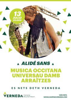 Empezamos #EsNetsdethVerneda con la actuación en directo de Alidé #musicaendirecto #livemusic #valdaran #VernedaCampingMountainResort