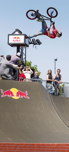 This is how you fly on your bike! #redbull