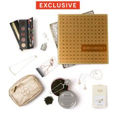 LOVE everything in here!!! Limited Edition: Precious Metals , $120.00 #birchbox