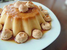 La creme caramel, chiamata anche caramel custard, è un tipo di budino di origine portoghese (di qui il nome italiano, latte alla portoghese) con uno strato
