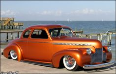 "This is the ""Duke of Burl's"" 1940 Chevy Coupe shot by Trent Sherrill and built by Alex Gambino of Gambino Kustoms Chevy, Chevrolet, Rat Rods, Texans Cheerleaders, Sweet Cars, Kustom, Hot Cars, Custom Cars, Corvette"