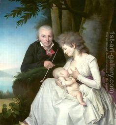 Friedrich Tischbein Portrait, 1795-1800