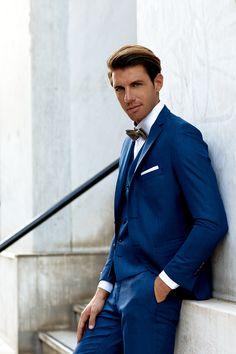 Κοστούμι μπλε καρό στενή γραμμή κωδ:1440 - Γαμπριάτικα κοστούμια ΘεσσαλονίκηΓαμπριάτικα κοστούμια Θεσσαλονίκη Suit Jacket, Suits, Jackets, Style, Fashion, Down Jackets, Swag, Moda, Fashion Styles